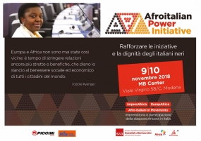 9/10 Novembre 2018 - Afroitalian Power Initiative